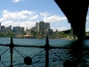 Under Sydney Harbour Bridge