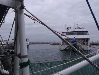 Leaving Harbour