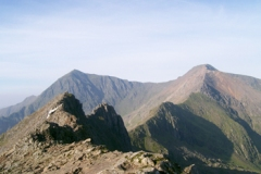 Snowdon via Crib Goch 26SEP08