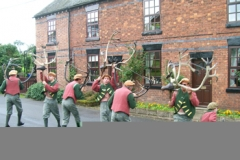 Abbots Bromley Horn Dance 07SEP09